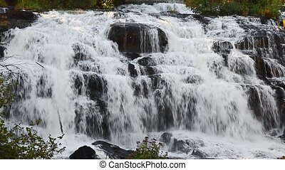 Lower Bond Falls Loop - Bond Falls, a remarkably beautiful...