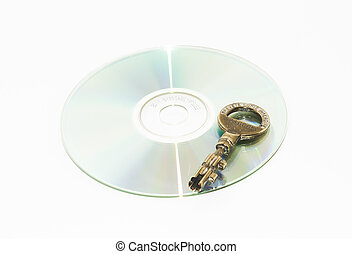 Data Safety 2 - A key on a backup dvd