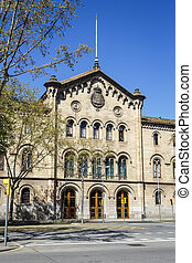University of Barcelona - Historical building of the...