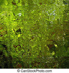 Green with Envy - Artistic abstract photo.