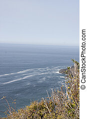 Oregon Seascape. Photo taken at Cape Foulweather Viewpoint,...