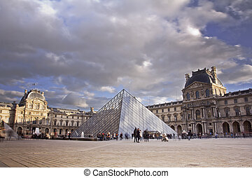 Louvre Museum Paris, France - Louvre Museum is the most...