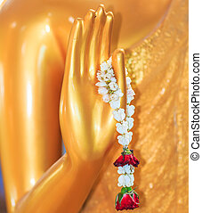 Hand of Buddha garlands