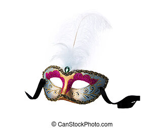 Mask  on a white background