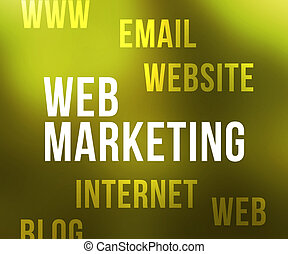 Web Marketing Tag Cloud