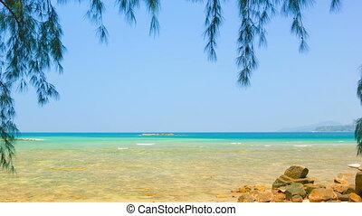 Deserted seaside. Thailand, Phuket