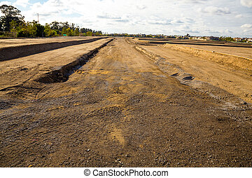 Future Housing Development - Land is prepped and ready for...