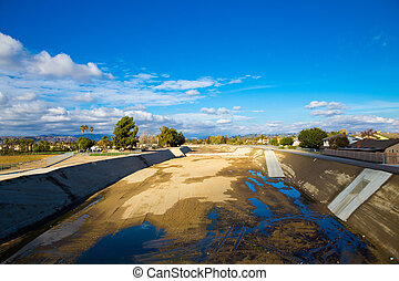 Empty River Southern California Drought - Drought is upon...
