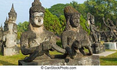 Sculpture Buddha Park (Xieng Khuan)