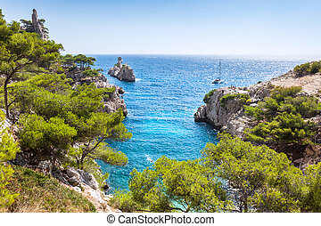 Calanques near Marseille and Cassis in south of Francejpg