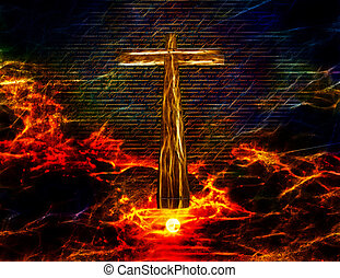 Cross in Sky