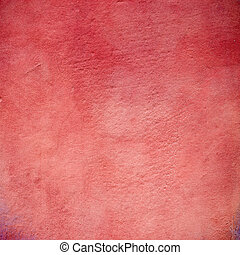 Red grunge background texture wall