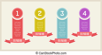 Infographic Elements - Flat Infographic Elements. Vector...
