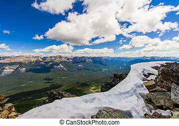 OVerlooking the Bow Valley in Banff