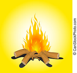 Bonfire Illustrations and Clip Art. 12,828 Bonfire royalty free ...
