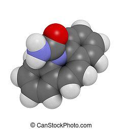Carbamazepine anticonvulsant and mood stabilizing drug...