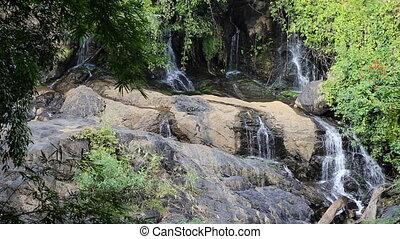 Pha Suea Waterfall, Mae Hong Sorn, Thailand
