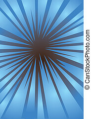 Blue backgground - abstract vibrant blue backgground design...