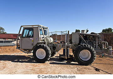 Seismic Buggy - Mobile seismic buggy equipped with a...