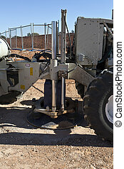 Vibrator Seismic Buggy - Mobile seismic buggy equipped with...