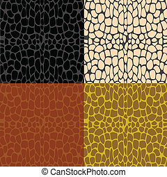 Several samples stone wall - Sample wall from stone of the...