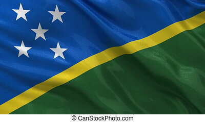 Flag of the Solomon Islands loop - Flag of the Solomon...