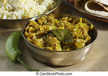 Mirch ka salan a vegetarian dish of Andhra Pradesh - Mirch...