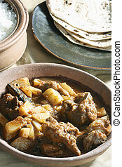 Tamil mutton vindaloo : A popular dish from Tamilnadu. -...