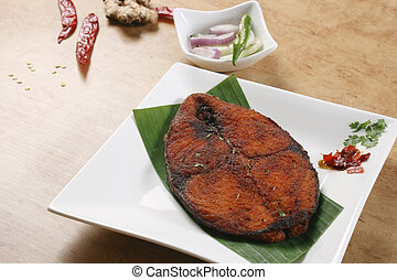 Fish Fry A fish preparation from Kerala - A fish fry is a...
