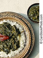 Haak Kashmir spinach from India - Haak Kashmir spinach made...
