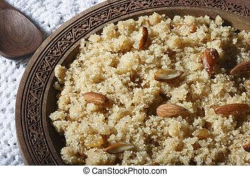 Halwaua e Aurd Sujee a Semolina Pudding - Halwaua e Aurd...