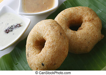 Medu Vada - A South Indian snack - Vada also known as...