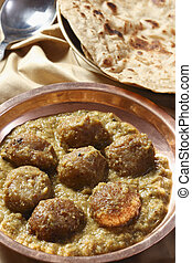 Chanar Dalna is mixed vegetables or eggs or cottage cheese...