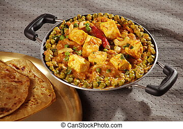 Mattar Paneer is a north Indian dish - Mattar Paneer is a...