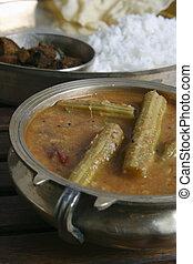 Drumstick Sambar from Tamilnadu - Drumstick Sambar - A thick...