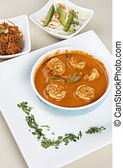 Goan Prawn Curry - Goan prawn curry is a seafood from goa...