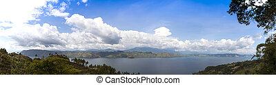 Lake Toba Panorama.