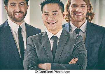 Business leader - Closeup portrait of a confident business...