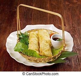 Banh trang - Chinese style Banh trang - typically used in...