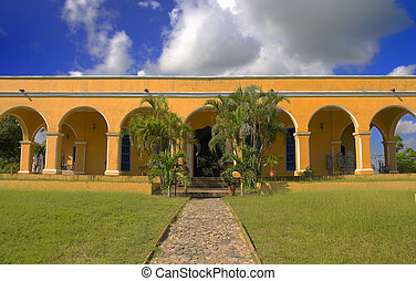Tropical house - A view of tropical house in Trinidad...