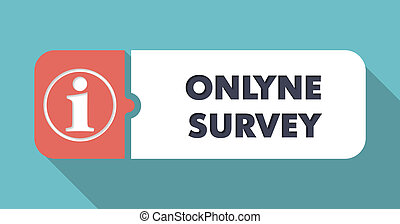 Online Survey on Blue in Flat Design. - Online Survey on...