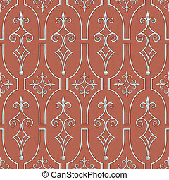 Wrought Patterns Seamless Texture - Wrought Patterns...
