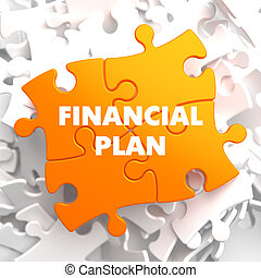 Financial Plan on Orange Puzzle. - Financial Plan on Orange...