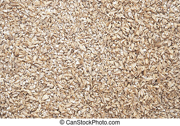 wheat grain milled ground as a background