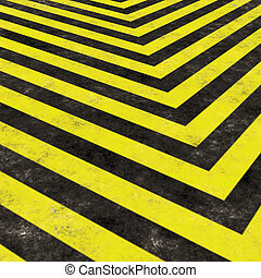 Construction Hazard Stripes - Hazard stripes texture that...