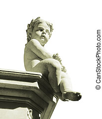 Classic Style Boy Sculpture - Classic style scuplture of a...