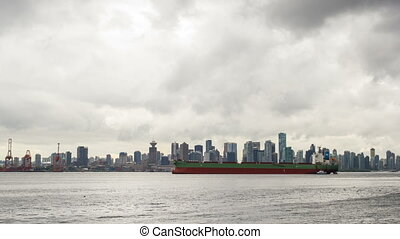 Port of Vancouver BC Time Lapse
