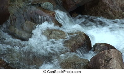 Merced River, Yosemite National Park - The Merced river...