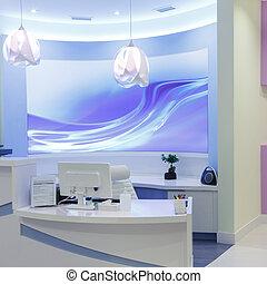 Interior Design - Reception Interior Design