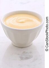 Fresh peach yogurt - Delicious, nutritious and healthy fresh...